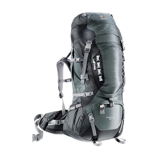 Deuter Aircontact Pro 60 + 15 - Granite/Black