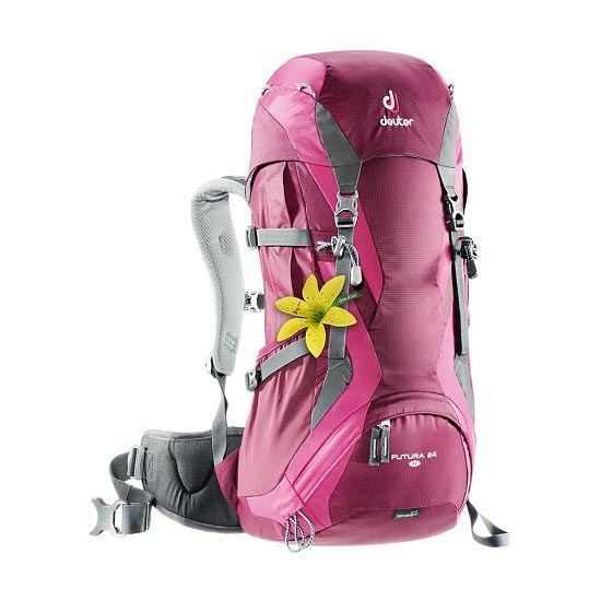 Deuter Futura 24 W - Blackberry/Magenta