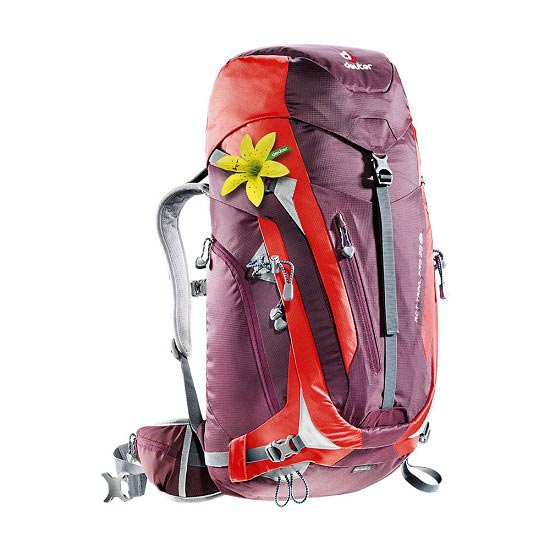 Deuter Act Trail Pro 38 SL W - Aubergine/Fire