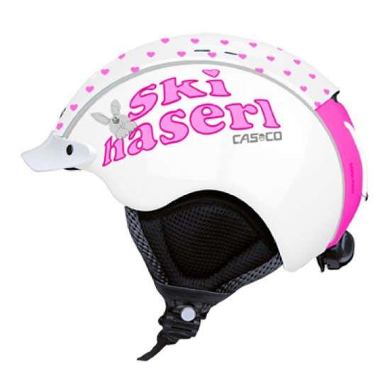 Casco Mini-Pro - White Pink