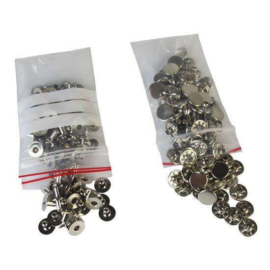 Pomoca Rivets for Endhooks - Plateado