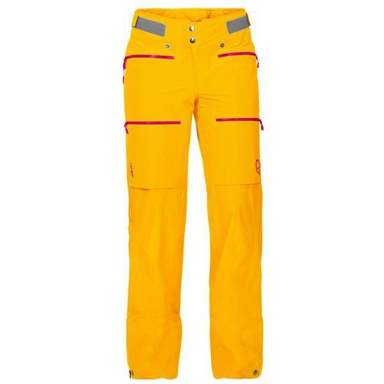 Norrona Lyngen Driflex3 Pants W - Yellow Saffron