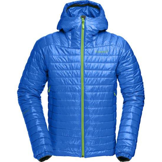Norrona Falketind PrimaLoft100 Hood Jacket - Electric Blue