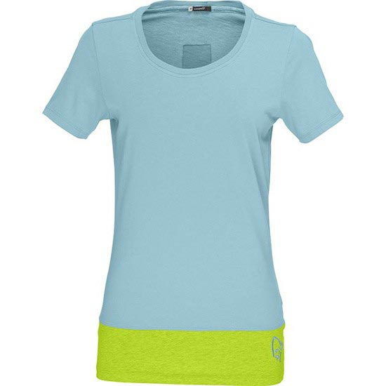 Norrona 29 Horizontal Cotton T-shirt W - Trick Blue