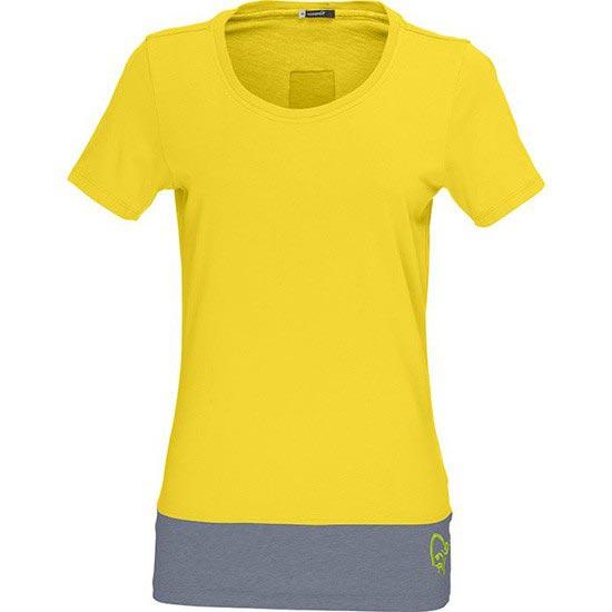 Norrona 29 Horizontal Cotton T-shirt W - Mellow Yellow