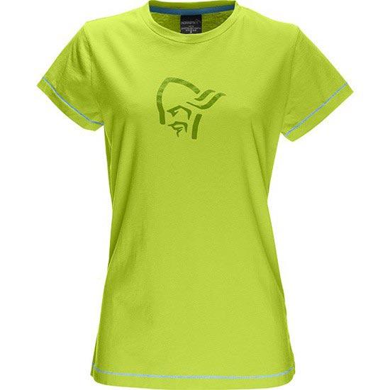 Norrona 29 Cotton Logo T-Shirt W - Birch Green
