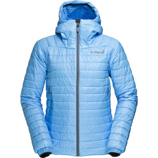 Norrona Falketind PrimaLoft100 Hood Jacket W - Ice Blue