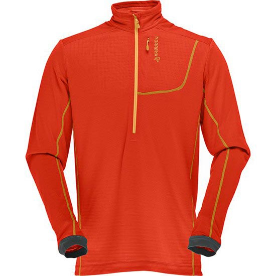 Norrona Bitihorn Powerdry Shirt - Hot Chili