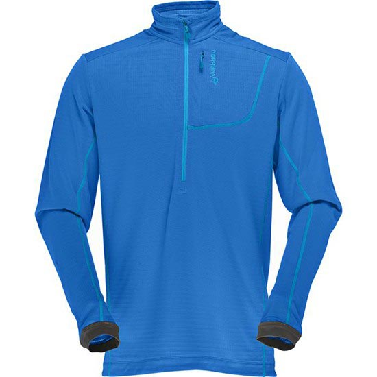 Norrona Bitihorn Powerdry Shirt - Electric Blue