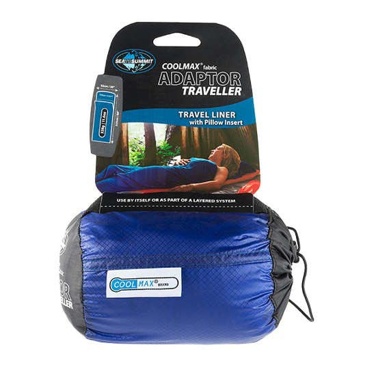 Sea To Summit Coolmax Adapator Traveller Liner - Azul