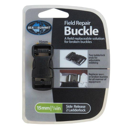Sea To Summit Field Repair Buckle-15mm Side Release - Black