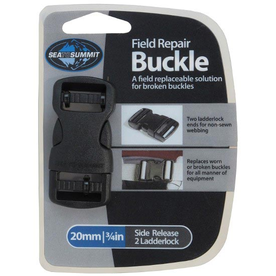 Sea To Summit Field Repair Buckle-20mm Side Release - Black