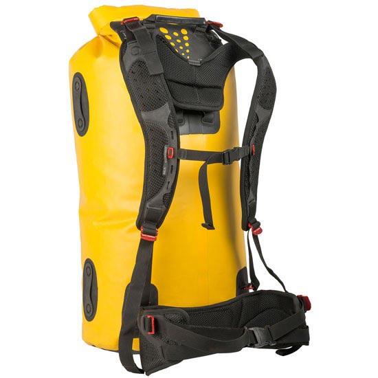 Sea To Summit Hydraulic Dry Bag W/Harness 35 L - Amarillo