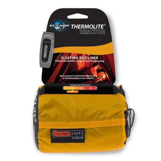 Sea To Summit Thermolite® Reactor Liner - Black