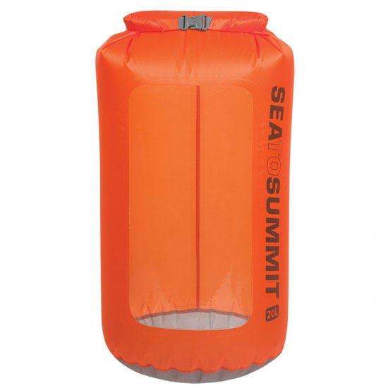 Sea To Summit Ultra-Sil View Dry Sack 20L - Naranja