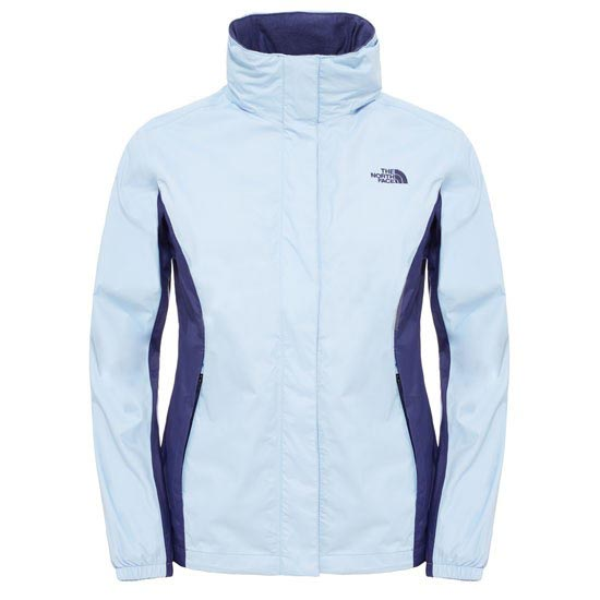The North Face Resolve Jacket W - Powder Blue/Patriot Blue