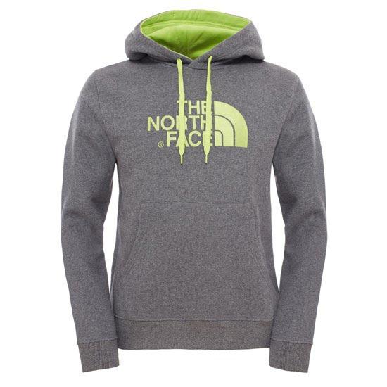 The North Face M Drew Peak Pullover Hoodie - Medium Grey Heather