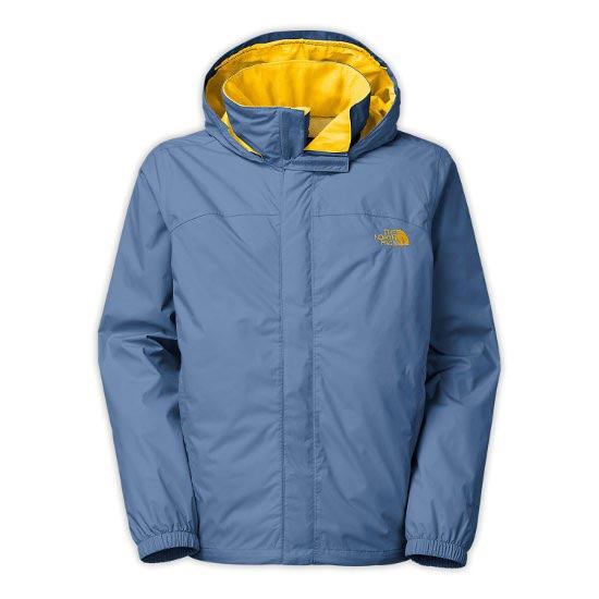 The North Face Resolve Jacket - MoonLight Blue/Freessia Yellow