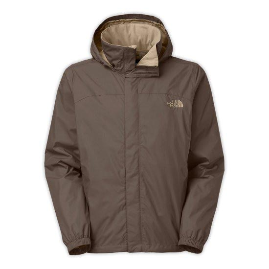 The North Face Resolve Jacket - Weimaraner Brown/Dune Beige