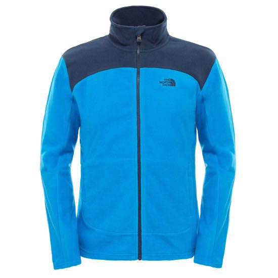 The North Face 100 Glacier Full Zip - Bomber Blue/Cosmic Blue