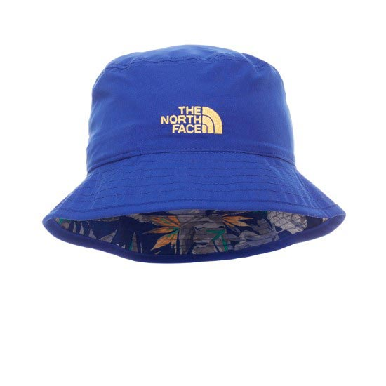 The North Face Sun Stash Hat - Marker Blue Pineapple Print