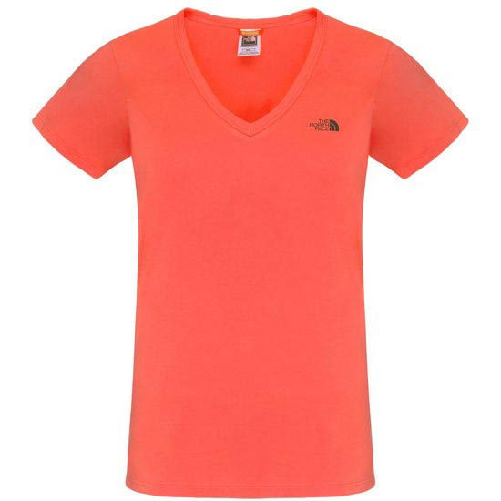 The North Face S/S Simple Dome Tee W - Radiant Orange