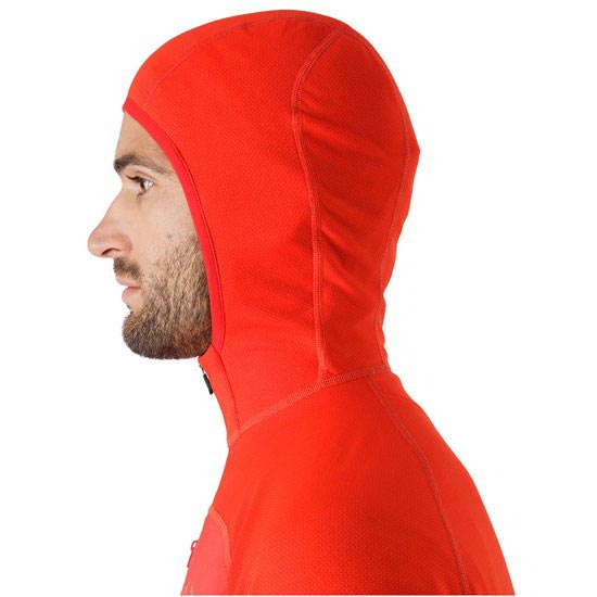 Arc'teryx Konseal Hoody 3/4 Zip - Photo de détail