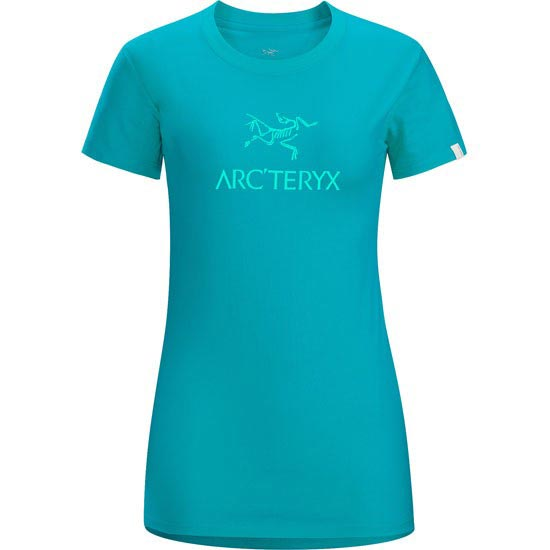 Arc'teryx Arc'word SS T-Shirt W - Cerulean