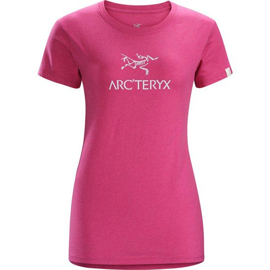 Arc'teryx Arc'word SS T-Shirt W - Heathered Houili Pink