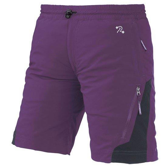 Trangoworld Odiel FI Jr - Púrpura/Marrón Asfalto