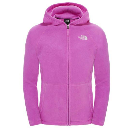The North Face Glacier Full Zip Hoodie G - Sweet Violet