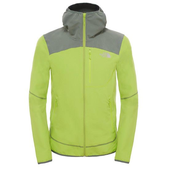 The North Face New Summer Softshell Hoodie - Macaw Green