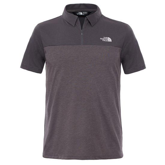 The North Face S/S Technical Polo - Asphalt Grey/Asphalt Grey