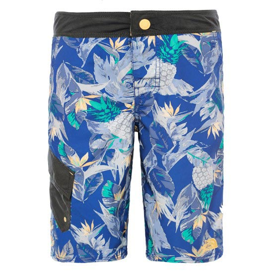 The North Face Markhor Hike/water Short B - Marker Blue/Pinapple Print