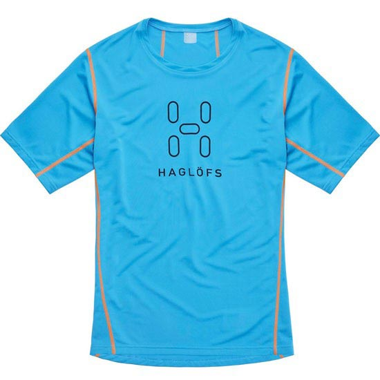 Haglöfs Intense Logo Tee Men - Blue Agate