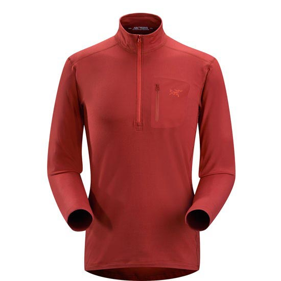 Arc'teryx Rho Lt Zip Neck - Oxblood