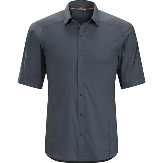 Arc'teryx Elaho SS Shirt - Magnet