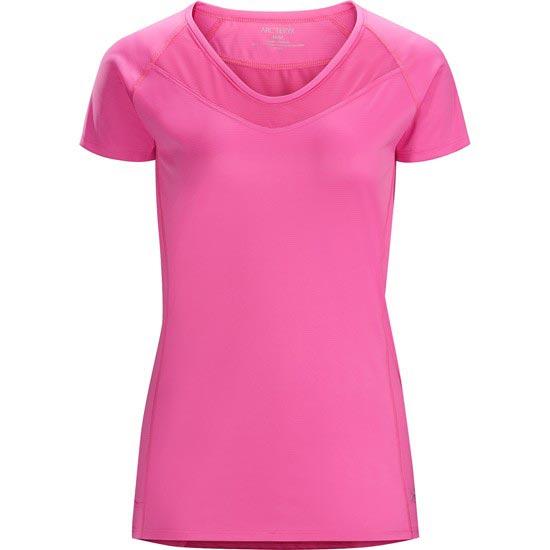 Arc'teryx Kapta Shirt SS W - Rose Violet