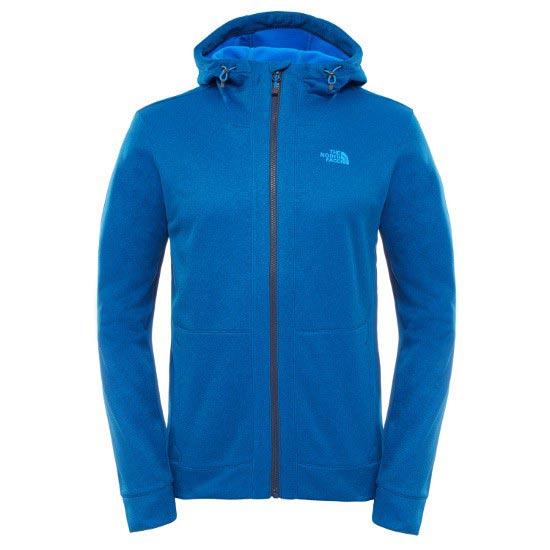 The North Face Mittellegi Full Zip Hoodie - Bomber Blue Heather