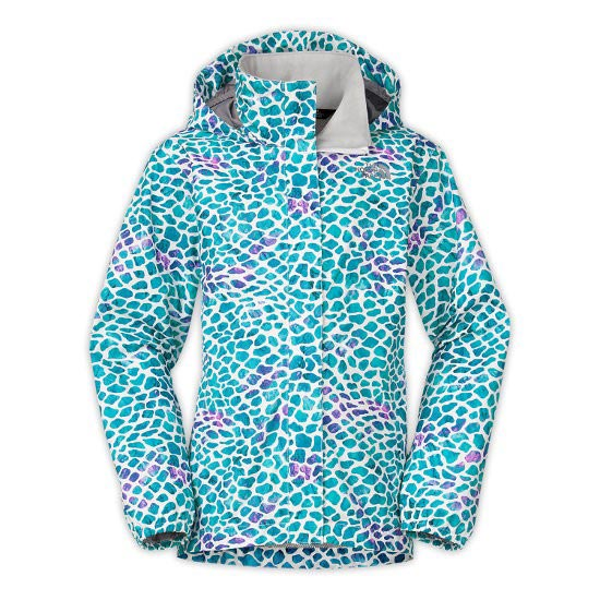 The North Face Novelty Resolve Jacket Girl - Bluebird Peeble Print