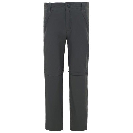 The North Face Convertible Hike Pant Boy - Asphalt Grey