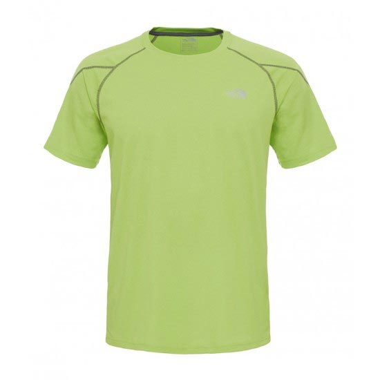 The North Face Voltage S/S Crew - Macaw Green Heather/Spruce Green