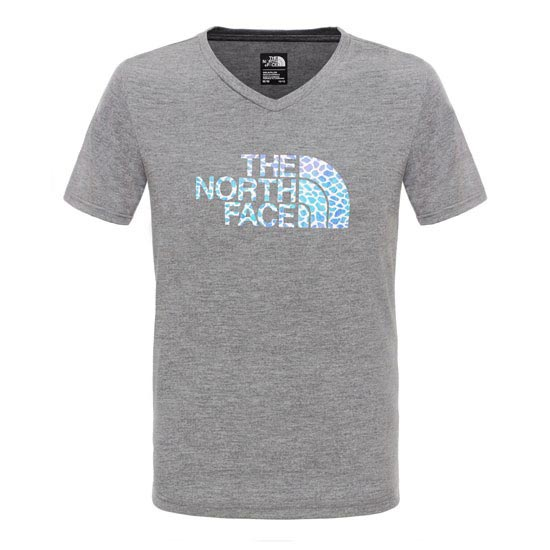 The North Face Reaxion Tee Girl - Heather Grey