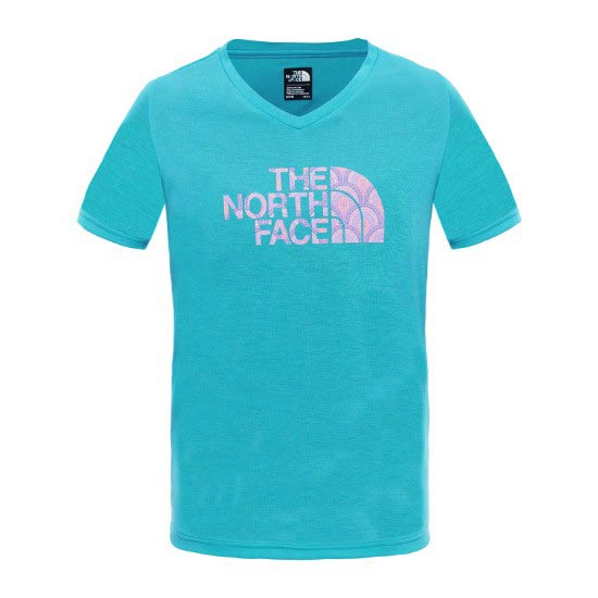 The North Face S/S Reaxion Tee Girl - Bluebird