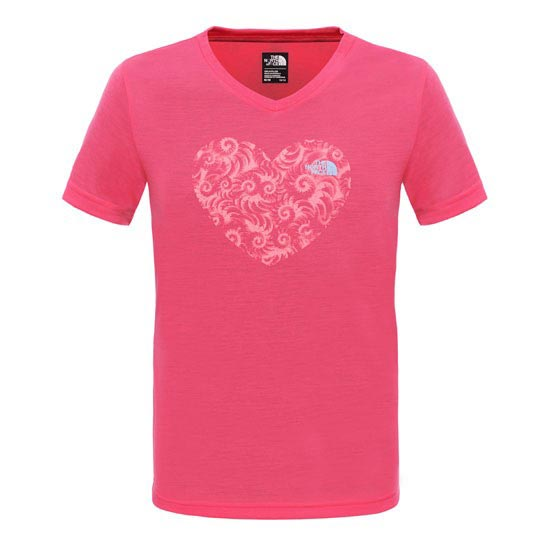 The North Face Reaxion Tee Girl - Cha Cha Pink