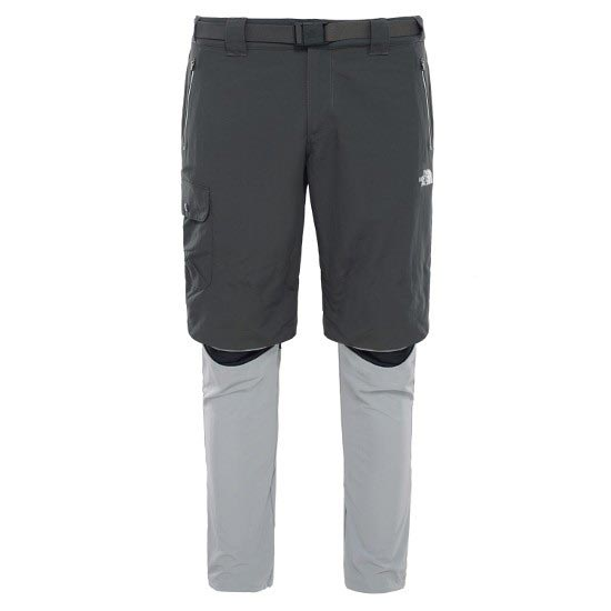 The North Face Initiate Convertible Pant - Asphalt Grey