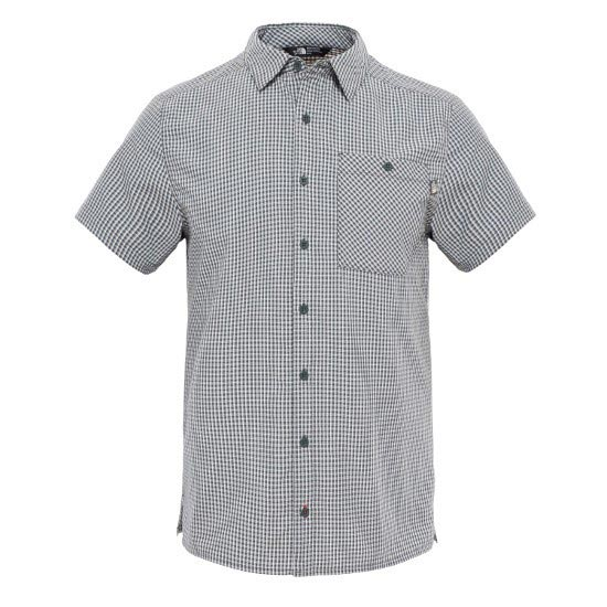 The North Face S/S Hypress Shirt - Spruce Green Plaid