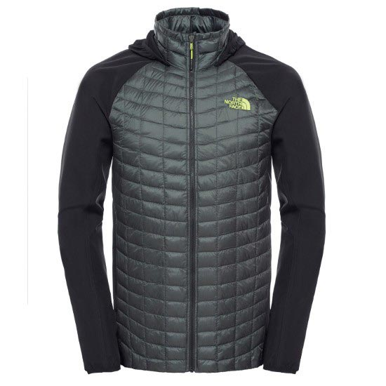 The North Face Thermoball Hybrid Hoodie - Spruce Green/Tnf Black