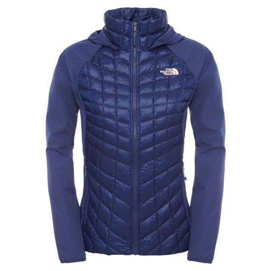 The North Face Thermoball Hybrid Hoodie W - Patriot Blue/Patriot Blue