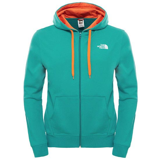 The North Face Open Gate Full Zip Hood Light - Teal Blue